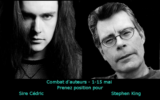 Combat d'auteurs round 7 Sire Cédric vs Stephen King