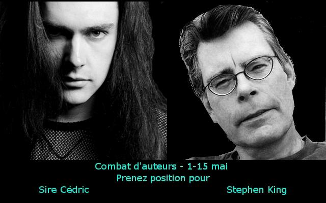 Combat d'auteurs round 7 Sire Cédric vs Stephen King