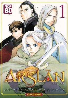 Couverture de The Heroic Legend of Arslân tome 1
